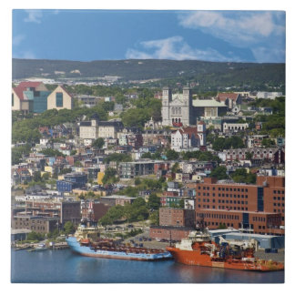 St. John's, Newfoundland, Canada, the coastline Ceramic Tile