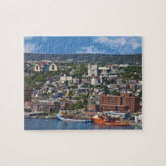 St. John's, Newfoundland, Canada, the coastline Jigsaw Puzzle