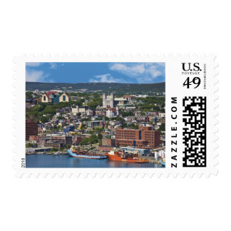 St. John's, Newfoundland, Canada, the coastline Postage Stamp