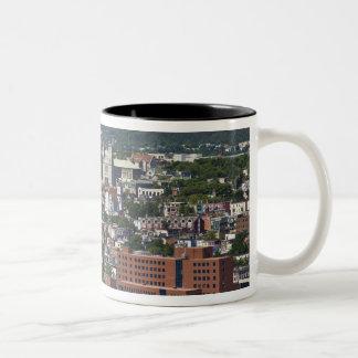 St. John's, Newfoundland, Canada, the coastline Two-Tone Coffee Mug