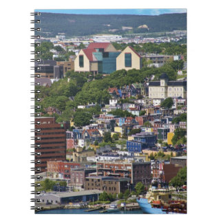 St. John's, Newfoundland, Canada, the Spiral Notebook