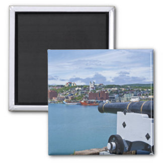 St. John's, Newfoundland, Canada, the waterfront 2 Inch Square Magnet