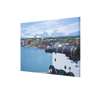 St. John's, Newfoundland, Canada, the waterfront Canvas Print
