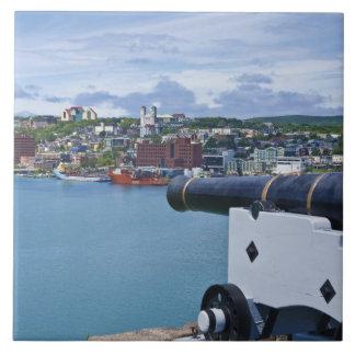 St. John's, Newfoundland, Canada, the waterfront Ceramic Tile