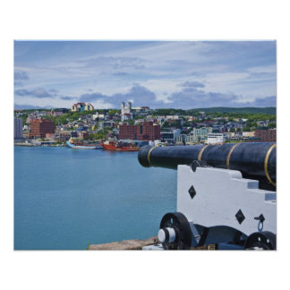 St. John's, Newfoundland, Canada, the waterfront Poster