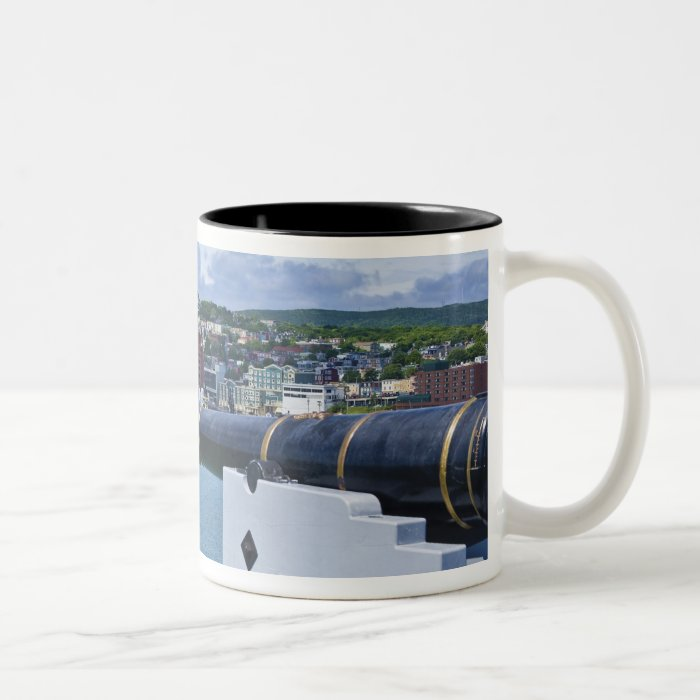St. John's, Newfoundland, Canada, the waterfront Two-Tone Coffee Mug