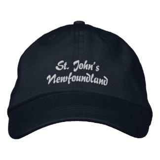 St. John's, Newfoundland, Embroidered Hat