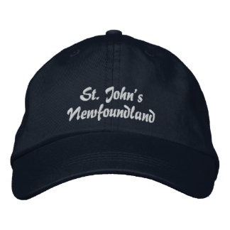 St. John's, Newfoundland, Embroidered Hat