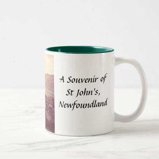 St John's, Newfoundland, Souvenir Mug