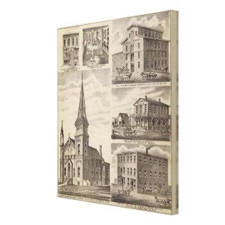 St. John's Roman Catholic Church, Minnesota Canvas Print