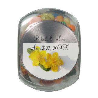 St. John's Wort - Hypericum Candy Favors Glass Jar