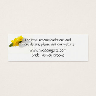 St. John's Wort - Hypericum Website Enclosure Mini Business Card