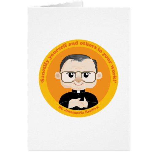 St. Josemaria Escriva Greeting Cards