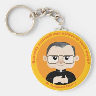 St Josemaria Escriva Keychains
