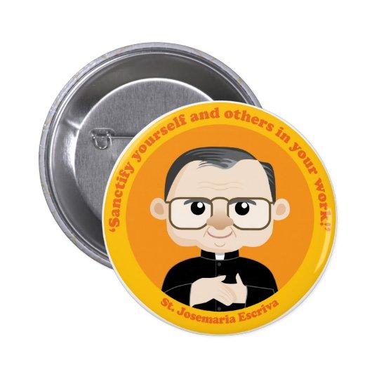 St. Josemaria Escriva Pinback Button