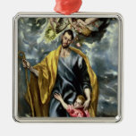 St. Joseph and the Christ Child, 1597-99 Christmas Ornament