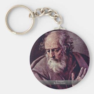 St. Joseph By Reni Guido Basic Round Button Keychain