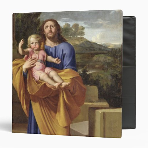 St. Joseph Carrying the Infant Jesus, 1665 Binder