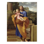 St. Joseph Carrying the Infant Jesus, 1665 Post Cards