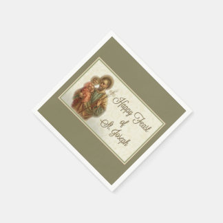St. Joseph Day Feast Napkins