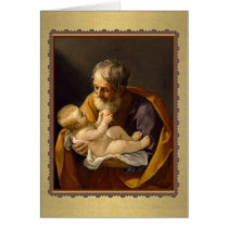 St. Joseph Feast Greeting Card Customize