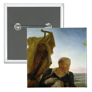 St Joseph from 'Rest on the Flight into Egypt' Button