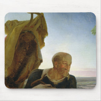St Joseph from 'Rest on the Flight into Egypt' Mouse Pad