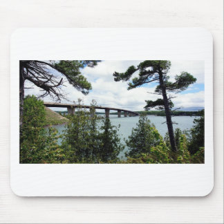 St. Joseph Island Bernt Gilbertson Bridge Mouse Pad