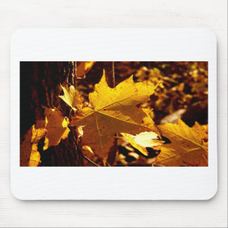 St Joseph Island Maple Leaf Mouse Pad