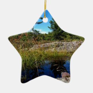 St Joseph Island northern Ontario Ceramic Ornament