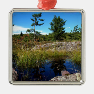 St Joseph Island northern Ontario Metal Ornament
