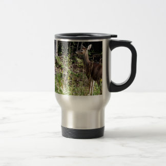 St Joseph Island Whitetail deer Travel Mug