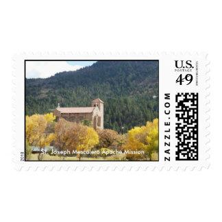 St. Joseph Mescalero Apache Mission Stamp