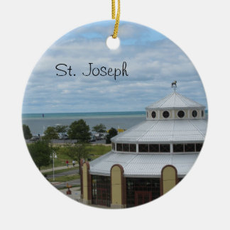 St. Joseph, Michigan Ceramic Ornament