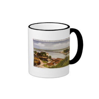 St. Joseph, Michigan Ringer Coffee Mug