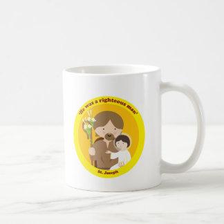 St. Joseph Classic White Coffee Mug