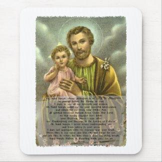 St Joseph Novena 2 Mouse Pad