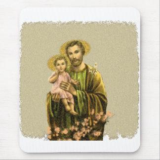 St Joseph Novena Mouse Pad