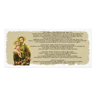 St Joseph Novena Rack Card