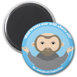 St. Joseph of Cupertino 2 Inch Round Magnet