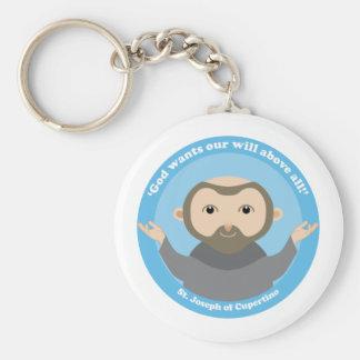 St. Joseph of Cupertino Basic Round Button Keychain
