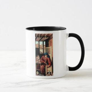 St. Joseph Portrayed as a Medieval Carpenter Mug