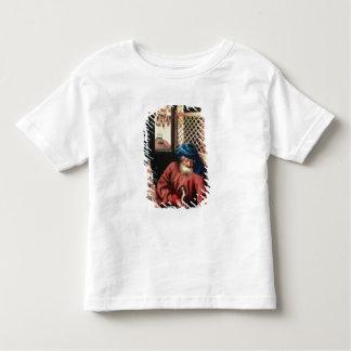 St. Joseph Portrayed as a Medieval Carpenter T-shirt