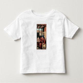 St. Joseph Portrayed as a Medieval Carpenter T-shirts