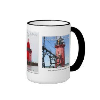 St. Joseph _ South Haven _ Holland Harbor Ringer Coffee Mug
