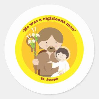 St. Joseph Classic Round Sticker
