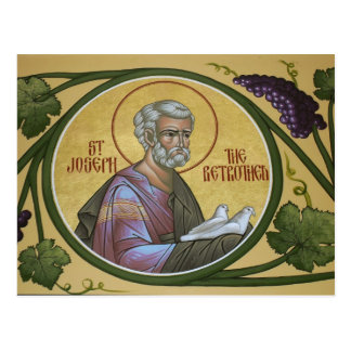 St. Joseph the Betrothed Prayer Card