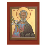 St. Joseph the Betrothed Prayer Card Post Card