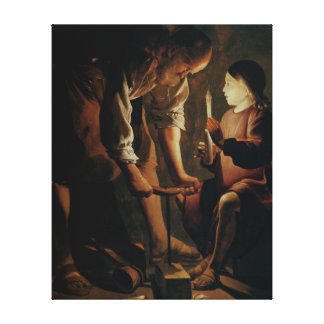 St. Joseph, the Carpenter Canvas Print