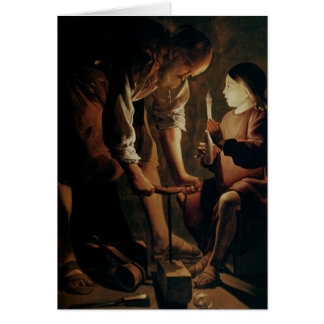St. Joseph, the Carpenter Card